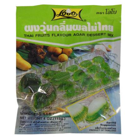 Thai fruits agar dessert mix