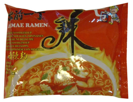 Nissin Noodle Spicy 100 g