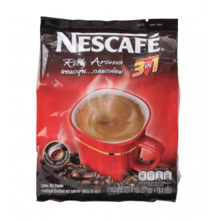 Coffee Mix 3 in 1 (Red) 523 g Nescafé