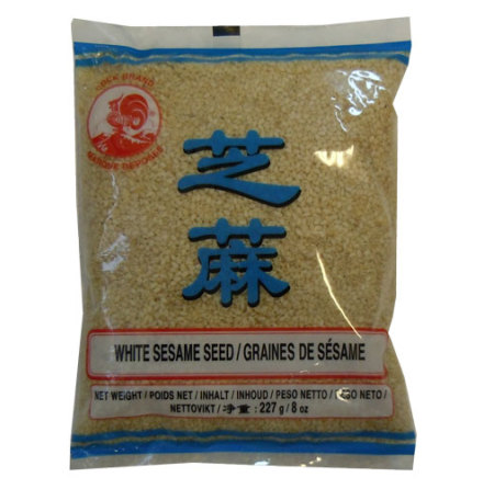 White Sesame Seed 227 g Cock