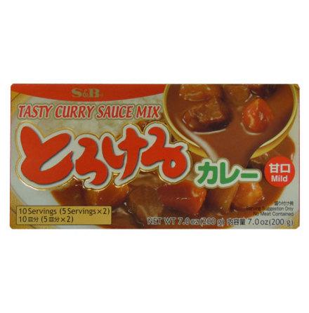 Tasty Curry Sauce Mix 200 g Mild S&B