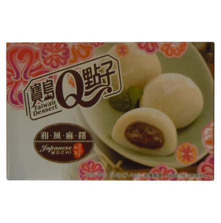 He Fong Red Bean Mochi 210 g