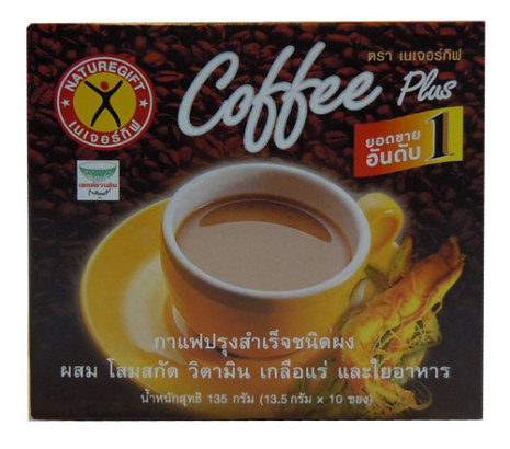 Coffee Plus 135 g Nature Gift