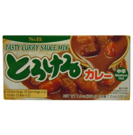 Tasty Curry Sauce Medium 200g