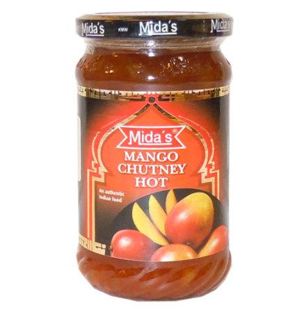 Mango Chutney Hot 340g Mida´s