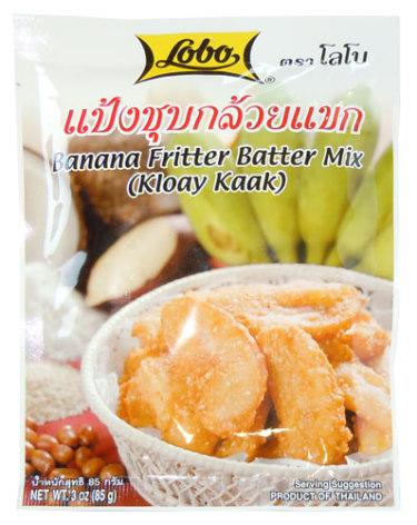 Banana Fritter Mix 85g Lobo