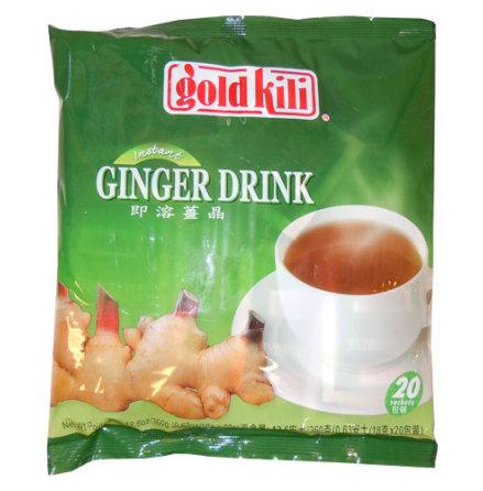 Instant Ginger Drink 20x18g Gold Kili