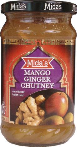 Mango Ginger Chutney 340g Mida