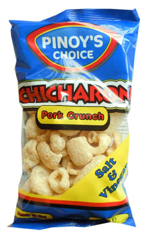 Chicharon Salt & Vinegar 80g Pinoy´s Choice