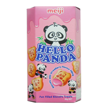 Hello Panda Strawberry 50g Meiji
