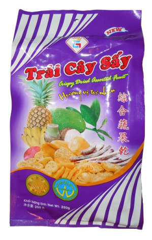 Mixed Fruit Chips 250g Gia Thanh