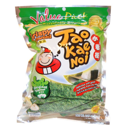 Crispy Seaweed Orginal 32g Taokaenoi