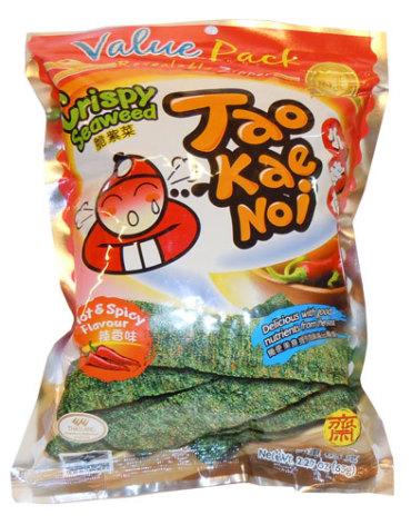 Crispy Seaweed Spicy 32g Taokaenoi