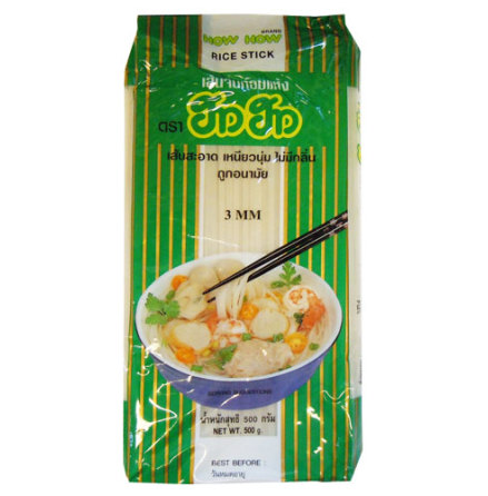 Rice stick 3 mm How How 500 g