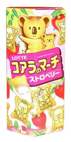 Koala's March Strawberry 37g Lotte