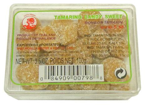 Tamarind Candy Sweet 100g Cock