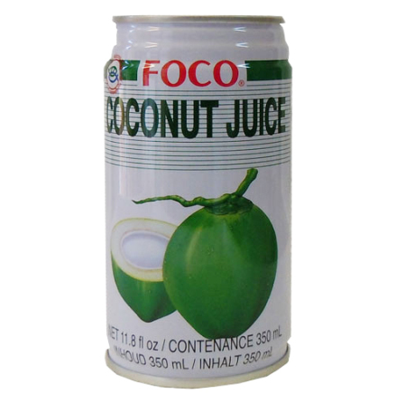 Coconut Juice 350 ml Foco