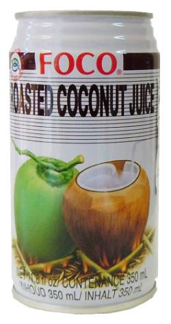 Roasted Coconut Juice 350 ml Foco