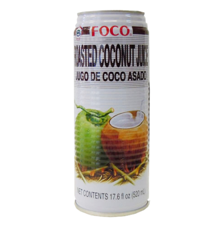 Roasted Coconut Juice 520 ml Foco