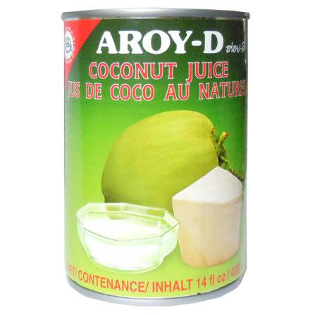Coconut Juice 400ml Aroy-D