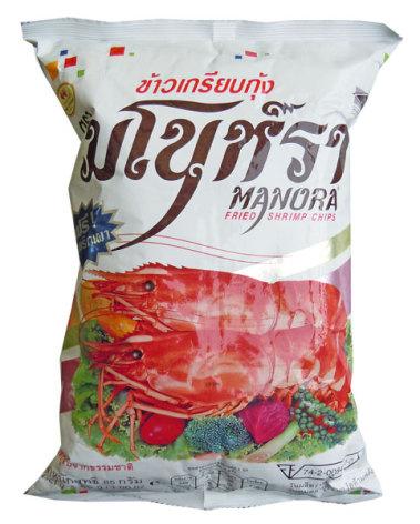 Shrimp Chips 85 g Manora