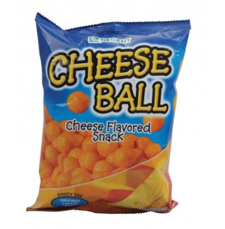 Cheese Ball Snack 65g Regent