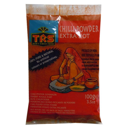 Chilli Powder Extra Hot 100 g TRS