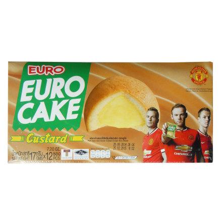 Custard Cake 204g Euro