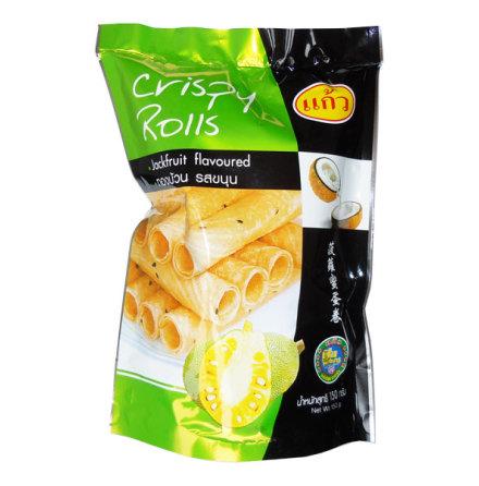 Crispy Rolls Jackfruit Flavoured 150g Kaew