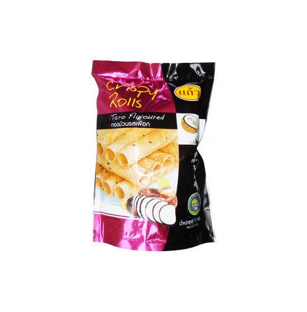 Crispy Rolls Taro Flavoured 150g Kaew