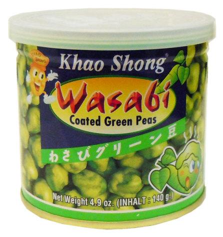 Wasabi Green Peas 140g Khao Shong