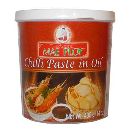 Chilli Paste in Oil 400 g Mae Ploy