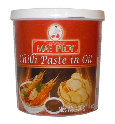 Chilli Paste in Oil 400 g Mae Ploy