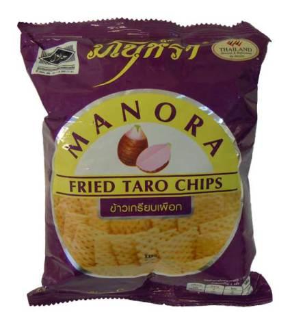 Fried Taro Chips 35g Manora