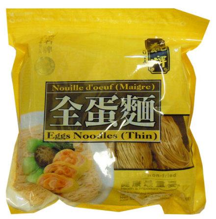 Egg Noodles Thin 454g Sau Tao