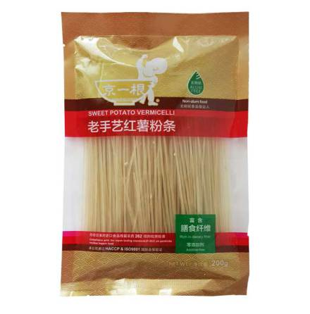 Sweet Potato Vermicelli Thin 200g JYG