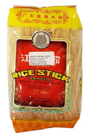 Kongmoon Rice Vermicelli 400g Happy Swallow