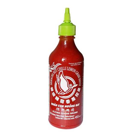 Sriracha Chili Lemon grass Sauce 455g Flying Goose
