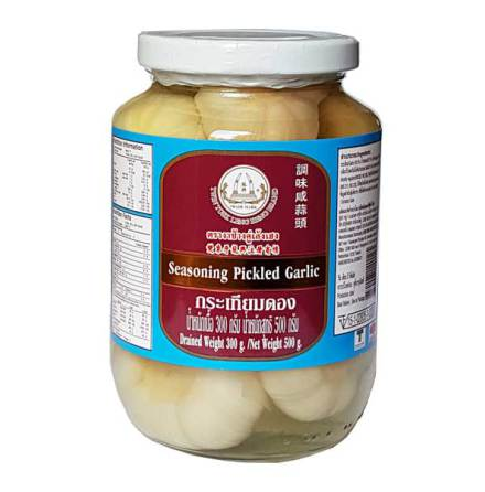 Seasoning Pickled Garlic 454 g Leng Heng