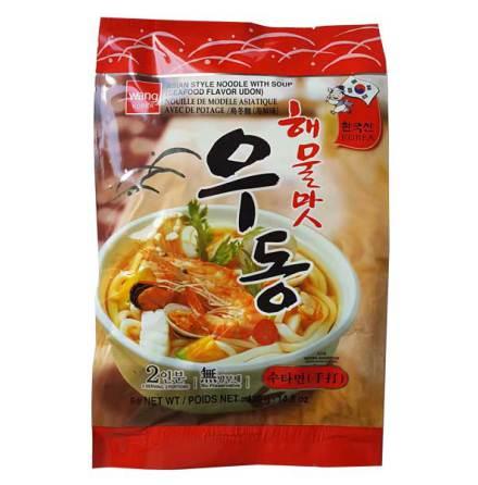 Seafood Flavor Udon (Haelmulmat) 420g Wang