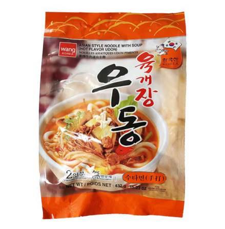 Hot Flavor Udon (Yukgaejang) 432g Wang