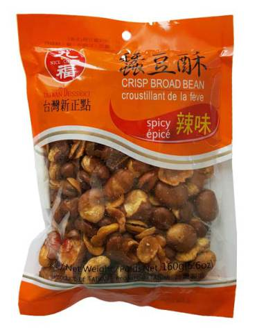 Crispy Broad Bean Spicy 160g Nice Choice