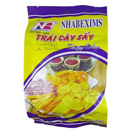 Mixed Fruit Chips 200g Nhabexims