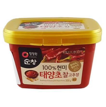 Hot Pepper Paste Gochujang 500g Chung Jung One