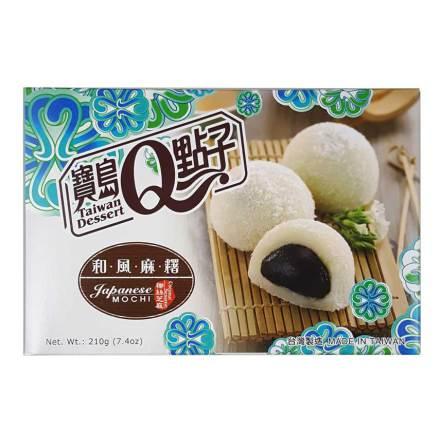 Mochi Sesame Coconut Shreds 210g He Fong