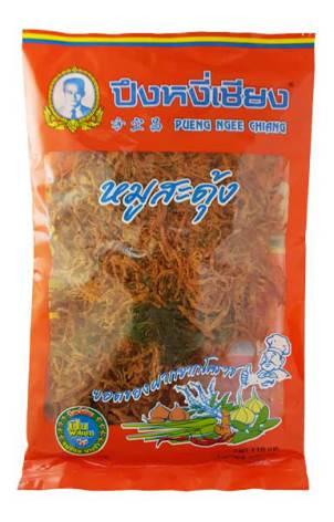 Preserved Pork Moo Sa-Dung 145g Pueng Ngee