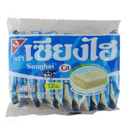 Sanghai Milk Wafer 72g