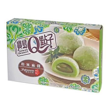 Mochi Green Tea 210g He Fong