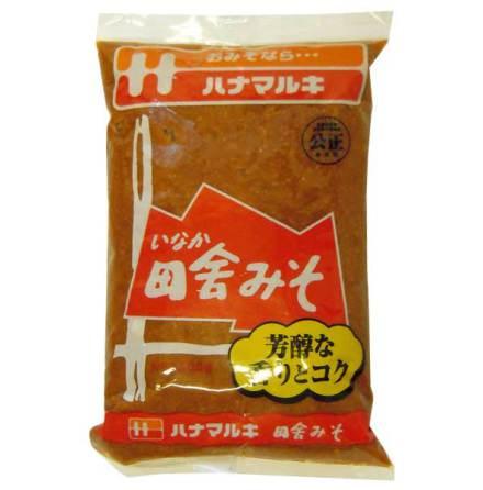 Misopasta Hanamaruki mörk 500 g