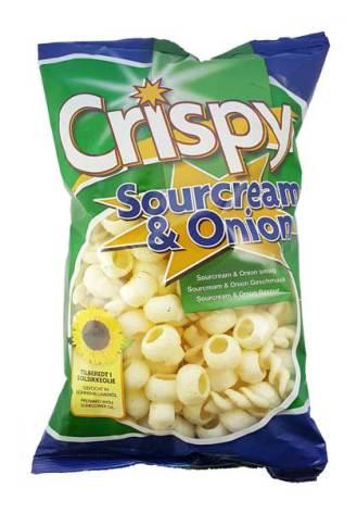 Sourcream & Onion 175g Crispy